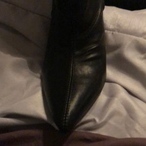 Brand New Crunch Heeled Boots-Gorgeous!!